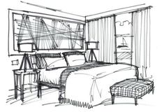 interior design bedroom sketching interior design house sketch