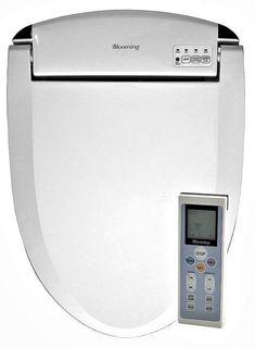 Coco Bidet Round White 9500rs Electronic Toilet Seat Remote