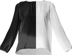 Duality Silk Top - Available Here: http://printallover.me/collections/sondersky/products/0000000p-duality-10