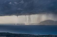 Greece And yes there were two waterspouts between Kos and Kalymnos islands in a remote area.... ......!! We got the report a bit late from our partner and we apologise for this.  Photo from partner Baggelis Tasakos 10/3/2016