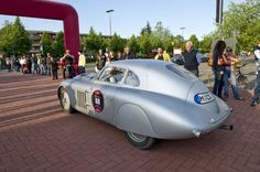 70 years after its victory in the 1940 Mille Miglia, the BMW 328 Mille Miglia Coupé Touring has once again emerged as the winner of the 2010 Italian event  | MM 2010