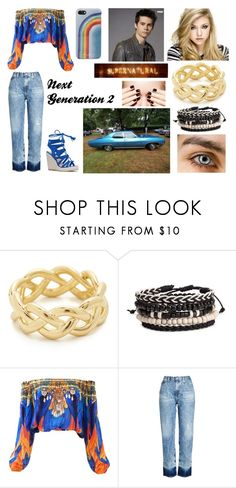 """Next Generation - 2"" by giuly666 on Polyvore featuring moda, Soave Oro, AG Adriano Goldschmied, jared e Marc Jacobs"