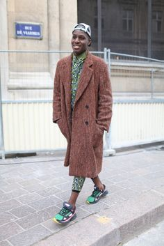 Paris Men's Fashion Week street style. [Photo by Kuba Dabrowski]