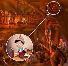 Easter Eggs In Movies, Disney Easter Eggs, Disney Pixar, Best Disney Movies, Disney Theory, Disney Secrets, Doll Food, Art Pictures, Diy For Kids