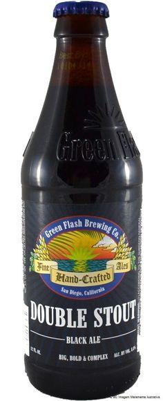 Green Flash Double Stout Black Ale 355ml