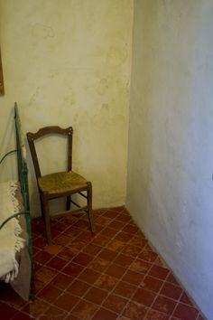Vincent van Gogh's room at the asylum, Glanum (Provence), 2011. Photo: Joel Meyerowitz.