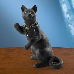 Night Gazer Cat Figurine by Lenox  #iheartlenox