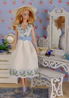 Summer Cornflowers for Barbie Poppy Parker and by HankieChic
