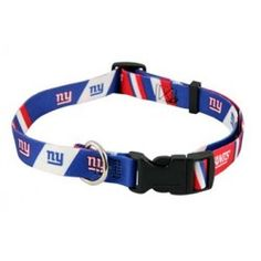 New York Giants Dog Collar - Hunter Show support of your favorite team with  this adjustable nylon officially licensed NFL dog collar! afee32f25