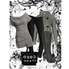 """shades of black & white with photos 