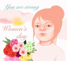 Happy Woman Day, Happy Women, You Are Strong, Strong Women, Sending Hugs, Make Her Smile, Love Hug, Day Wishes, Light Of My Life