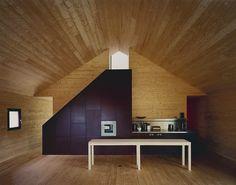 Degelo Architekten- Studio House (conversion of a former barn), Büsserach 2007