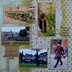 Tower of London, England - RIGHT SIDE - Scrapbook.com