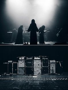 The Sunn O))) wall of amps