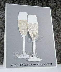M.A.D. Stamper | MFT Champagne Glass | happily ever after