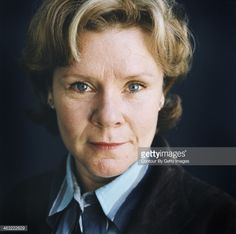 Imelda Staunton being photographed for The Times on September 2, 2004 in London