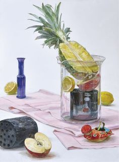 Painting Still Life, Color Of Life, Gouache, Watercolor, Anime, Drawings, Study, Manga, Painting On Fabric