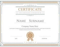 """Check out new work on my @Behance portfolio: """"Certificate flourishes elegant vector template"""" http://on.be.net/1GYBoQX"""