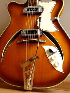 GOLDKLANG acoustic-electric guitar from the 50's or early 60's