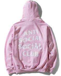 7ad341964974 Sweats  amp  Hoodies Pink Anti Social Social Club Hoodie Assc Antisocial  Limited Hoodie  ebay