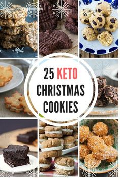 Low Carb Recipes The Great Keto Cookie Roundup! 25 Low Carb Christmas Cookie Recipes - You don't have to take a break from your diet - even if you're keto - to partake in a cookie break. Try one of these recipes from our keto Christmas cookie roundup. Desserts Nutella, Low Carb Desserts, Dessert Recipes, Cookie Recipes, Diet Recipes, Baking Recipes, Cookie Ideas, Smores Dessert, Keto Holiday