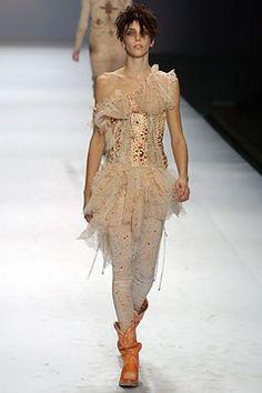 Jean Paul Gaultier Spring 2004 Ready-to-Wear Fashion Show - Hannelore Knuts, Jean Paul Gaultier