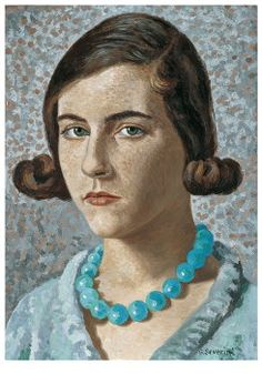 "Gino Severini (Italian, 1883 - 1960)  ""Portrait of artist's daughter"", 1931"