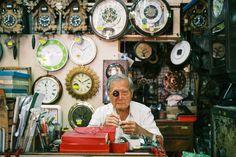 An owner of a clock & watch shop in Kuala Lumpur, Malaysia. (Leica M6 / Summicron 35mm F2 / Fujifilm Superia X-TRA 400)
