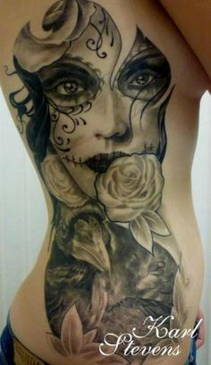 ~Sugar Skull Girl~ omg I am so getting this!!!