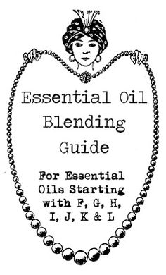 Essential oils ... what goes with what