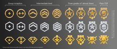 Image result for rank icons