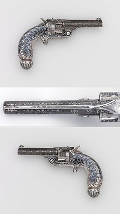 Smith and Wesson .32 Single-Action Revolver, Serial no. 94421  Smith  Wesson (American, established 1852) Tiffany  Co. designed, ca. 1891–93 .
