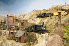 Model Train Scenery visit http://www.modeltrainfigures.com