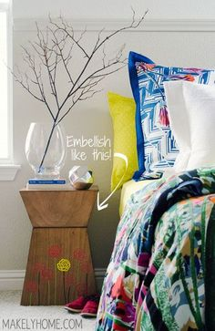 Decorating with stencils