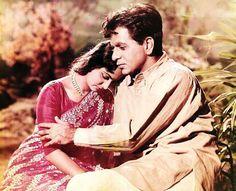 waheeda rehman and dilip kumar-Ram aur Shyam-1967