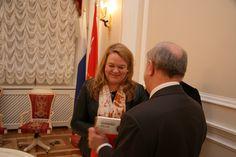 In Smolna (St. Petersburg) with Director Prohorenko.