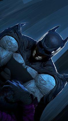 Joker vs batman, dc comics, artwork, 720x1280 wallpaper