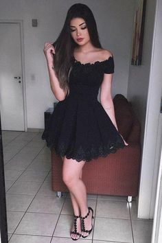 Lace Homecoming Dress,Short Prom Dress for Teens,SH49 #clothes#design#style