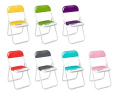 PANTONE FOLDING CHAIRS | Seating, Entertaining, Home Decor, | UncommonGoods