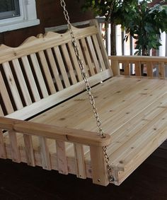 Look what I found on #zulily! Natural Cedar Royal English Swing Bed by A&L Furniture #zulilyfinds