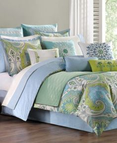 Echo Bedding, Sardinia King Comforter Set - Bedding Collections - Bed & Bath - Macy's