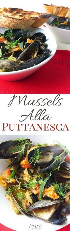 The flavors are amazing and I really think you'll enjoy what I have to show you! This Mussels alla Puttanesca is something to take note of.