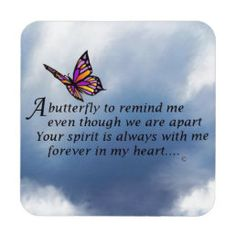 Butterfly Memorial Poem Tile   Zazzle.com The Broken Chain Poem, Mom Quotes, True Quotes, Real Quotes, Dream Of You Quotes, Losing A Loved One Quotes, Meaningful Quotes, Inspirational Quotes, Inspiring Sayings