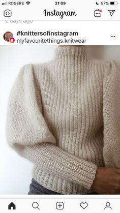 Ravelry: Sweater No. 7 pattern by My Favourite Things Mohair Sweater, Men Sweater, Pull Mohair, Damen Sweatshirts, Sweater Knitting Patterns, Baby Cardigan, Knit Fashion, Men's Fashion, Vintage Knitting