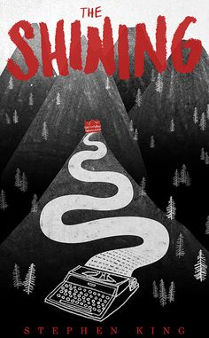 The Shining. Cool Alternative 'The Shining' Posters Best Book Covers, Beautiful Book Covers, Book Cover Art, Book Art, Best Book Cover Design, Movie Covers, The Shining Poster, Books And Tea, Backgrounds