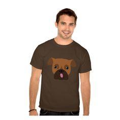 Barney Happy Dog Men T-Shirt