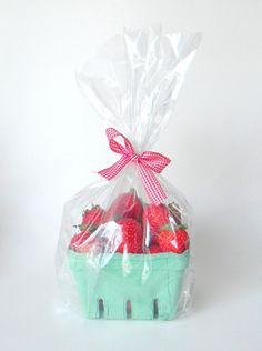 Fun poly bags by CMWrapNShipSupply are great for sprucing up a quick gift.