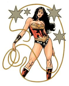 Tattoo Designs: Warm Up Sketch - Wonder Woman by Yanick Paquette