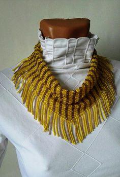 scarf neckerchief solitaire beaded Beaded Necklaces jewelry