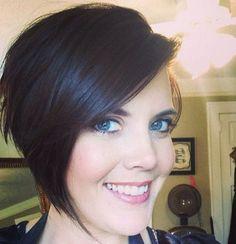 15 Chic Short Haircuts: Asymmetrical Short Hair